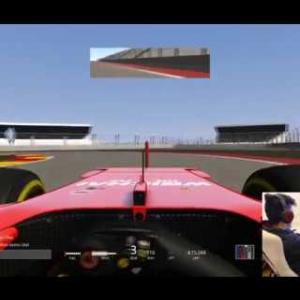 Qucik lap the new track...