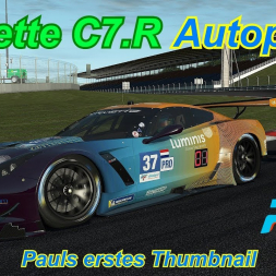 Corvette C7.R - Autopolis - rFactor 2