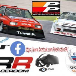 RaceRoom R3E Ford ZAKSPEED CAPRI  + VR - Rift + DIRECT DRIVE BIG MIGE