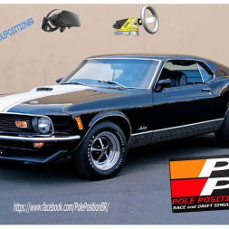Assetto corsa Slow Motion  Ford Mustang 1970