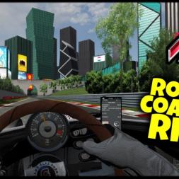 Roller Coaster Ride - Roller Coaster Race Circuit - Assetto Corsa VR