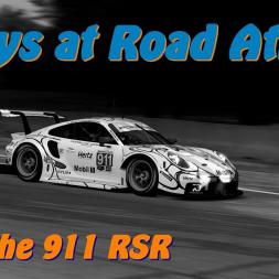 Porsche 911 RSR Flybys at Road Atlanta   Assetto Corsa