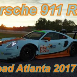 Porsche 911 RSR - Road Atlanta 2017 - rFactor 2
