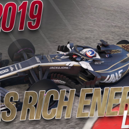 F1 2019 Haas Rich Energy Livery