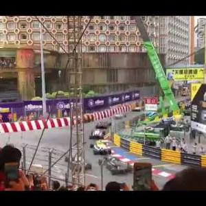 Formel 3 crash Macau GP Sophia Flörsch