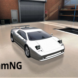 BeamNG: Building and driving my own V12 Supercar!