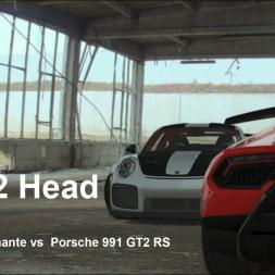 Head 2 Head | EP2 | Porsche 911 GT2 RS vs Huracan Performante | Assetto Corsa | VR