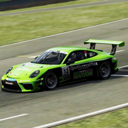 Assetto Corsa - Demolishing Road Atlanta with a Porsche GT3 Cup