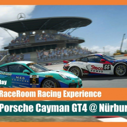 Early Access: RaceRoom Racing Experience - Porsche Cayman GT4 @  Nürburgring