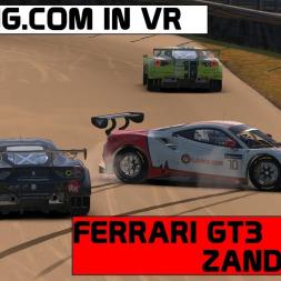 iRacing VR / Ferrari GT3 / Zandvoort