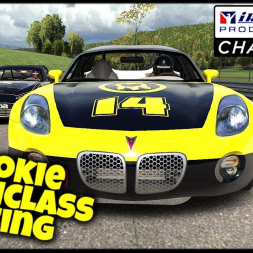 Rookie Multiclass Racing - iRacing Production Car Challenge -  Lime Rock Park - Chicane - iRacing VR