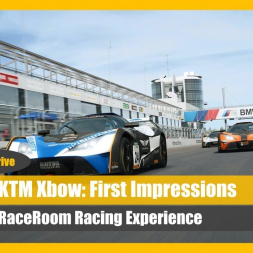 KTM Xbow GT4 - RaceRoom Talk 'n' Drive (Part 2)