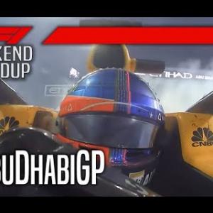 2018 F1 Abu Dhabi Grand Prix @ Yas Marina Circuit - F1 Weekend Roundup
