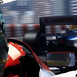 Mixed Reality Assetto Corsa Ayrton Senna race at Monaco