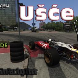 Assetto Corsa 4K * Ušće street circuit by Lemax SRM [download]