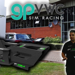 Presenting the NEW iSImRS F-SIM v2.0 at Racing Point F1 Headquarters, Silverstone - What an honour!