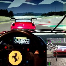 AC - Mugello - Ferrari 599XX - 100% AI race