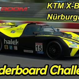 KTM X-Bow GT4 - Nürburgring GP - Leaderboard Challenge - RaceRoom Racing Experience