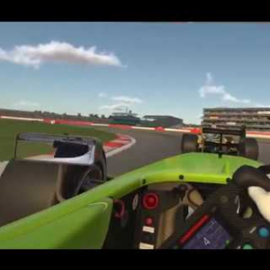 Iracing VR / Formula Renault 3.5 @ Silverstone