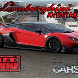 Project Cars 2 * 2018 Lamborghini Aventador LP770-4 SVJ [mod download]