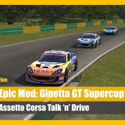 Top Mod - Ginetta GT Supercup (DOWNLOAD) - Assetto Corsa