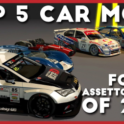 MY TOP 5 Car mods for Assetto Corsa of 2018