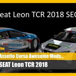 Great British Racing: Seat Leon TCR UK (DOWNLOAD)  - Assetto Corsa