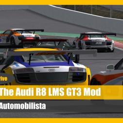 AMS Mods: Audi R8 LMS GT3 Talk 'n' Drive (DOWNLOAD)