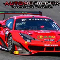 Ferrari 488 GT3 at Hungaroring - Automobilista (PT-BR)