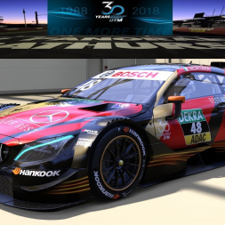 Mercedes AMG C63 DTM 2018 - 10 laps - VICTORY @ Bathurst Mount Panorama