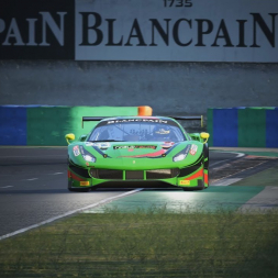 Assetto Corsa Competizione | Ferrari 488 GT3 | Hungaroring Hotlap 1:44.706