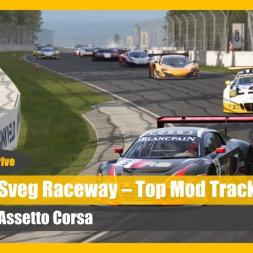 Top Mod Track: Sveg Raceway - Assetto Corsa Talk 'n' Drive (DOWNLOAD)