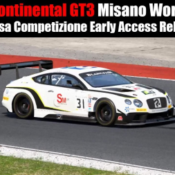 Assetto Corsa Competizione | Bentley Continental GT3 | Misano World Circuit race.