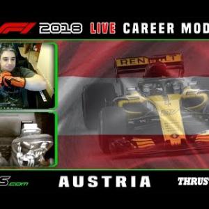 F1 2018 LIVE Career Mode #9 Red Bull Ring, Austria