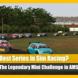 Best Race Car in Sim Racing? Automobilista Mini Challenge Talk 'n' Drive