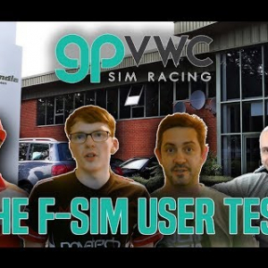 GPVWC F-SIM Test at Racing Point F1 Headquarters, Silverstone - They're quick!!