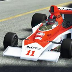 McLaren M23 Thrashed Around Historic Monaco - rFactor 2