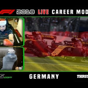 F1 2018 LIVE Career Mode #11 Hockenheimring, Germany