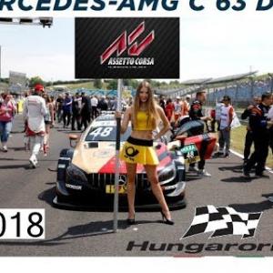 DTM 2018 @ Hungaroring - 10 laps short race - WIN