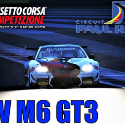 BMW M6 GT3 Testing at Paul Ricard - Assetto Corsa Competizione