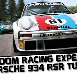 RaceRoom - Porsche 934 RSR Turbo first look at Spa