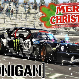 CHRISTMAS SPECIAL - Hoonicorn V2 in SNOW AND ICE at The Ring - Assetto Corsa