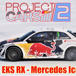 Audi S1 EKS RX - Playing in the Snow - Mercedes Ice Track (Full) - Project CARS 2