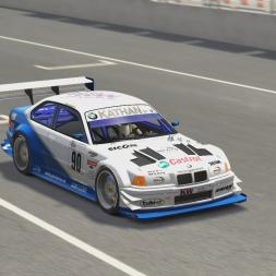 Assetto Corsa | BMW E36 320 JUDD V8 | Sveg Raceway Hotlap 2:28.515
