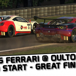 iRacing VR - A Race Of Two Halves At Oulton Park In The Ferrari !