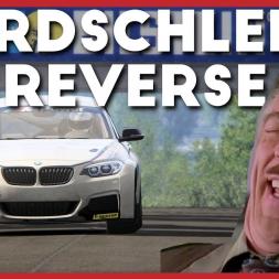 Driving Nordschleife IN REVERSE