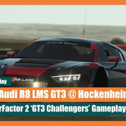 rF2: Audi R8 LMS x24hr Time of Day Cycle at Hockenheim