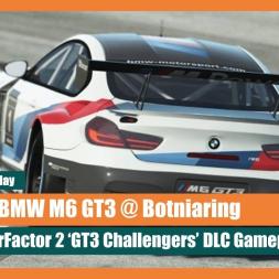 rF2: BMW M6 GT3 @ Botniaring Gameplay