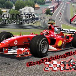 Assetto Corsa * Ferrari F2004 * Spa [Hotlap]