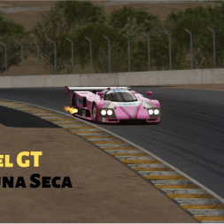 Assetto Corsa Camel GT mod for Laguna Seca